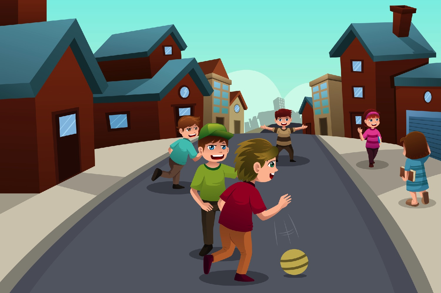 Watchout for children having fun on the streets during Covid-19
